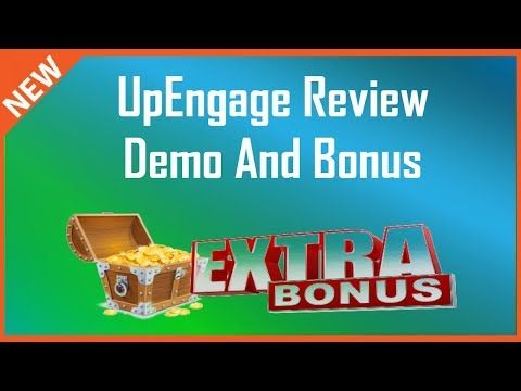 UpEngage Review | UpEngage Demo Plus Bonus - YouTube