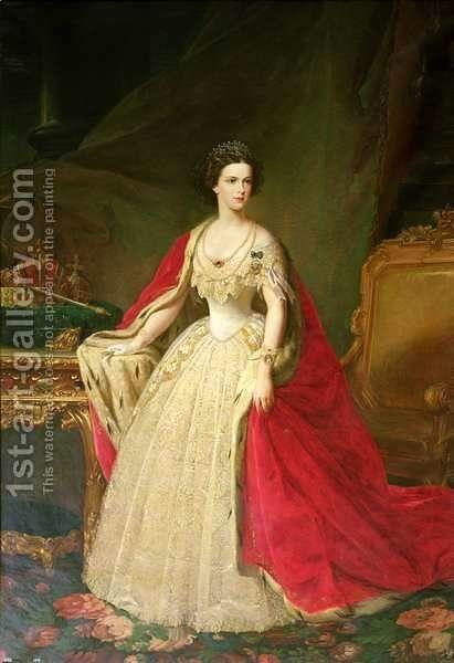 Empress Elizabeth 1837-98 of Bavaria