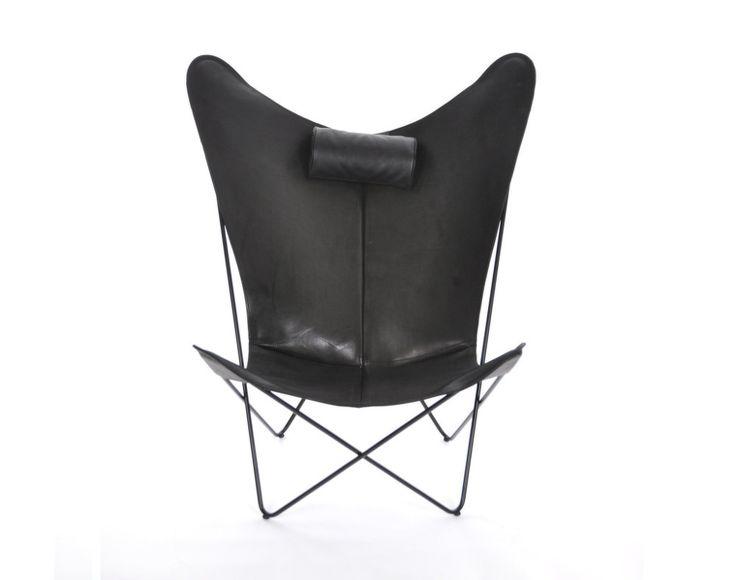 Křeslo KS Chair od OX Denmarq, černá kůže | DesignVille