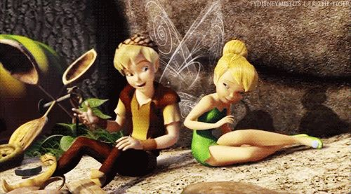 I surely never had a new favorite disney characters, like Tinkerbell and Terence, before. And I like them, already!