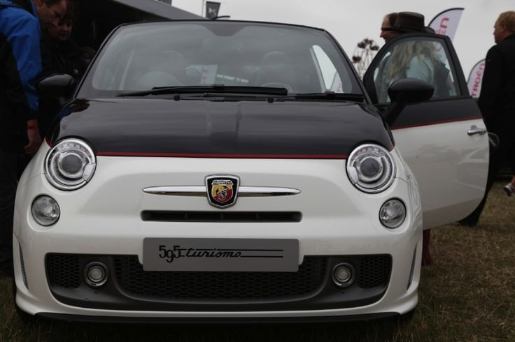 Abarth UK at Chris Evans' CarFest South 2013 for BBC Children in Need