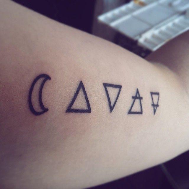 New pretties done today! #tattoo #tattoos #spirit #alchemy ...