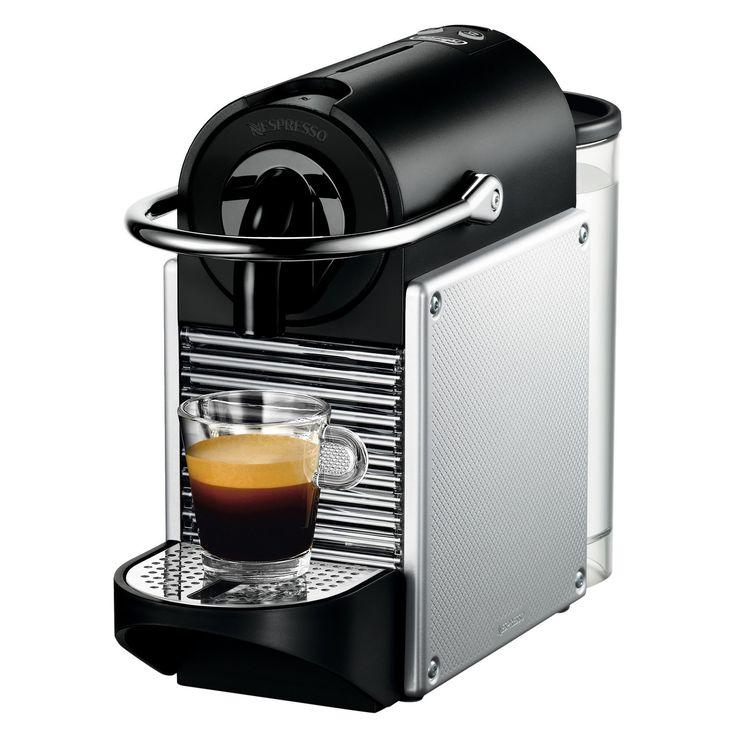 Nespresso Pixie Espresso Machine by De'Longhi - Aluminum ...