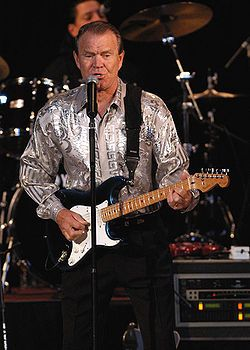 Glen Campbell is a American Country Music Singer, Guitarist and TV Host. He was born and raised in Delight, Arkansas. He has sold 45 million records.