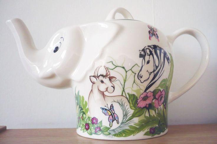 1000 images about elephant teapot on pinterest an elephant pottery and ceramic art - Elephant shaped teapot ...