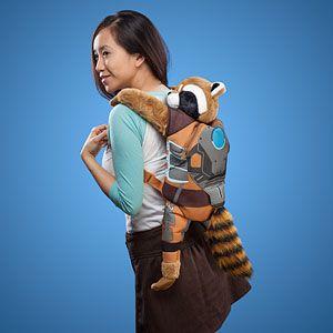 Rocket Raccoon Backpack Buddy - Exclusive Additional Image