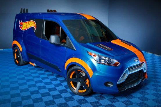 2014 Ford Transit Connect Becomes Full-Size Hot Wheels at 2013 SEMA Show - Motor…