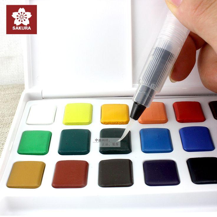 Cheap watercolour paint box, Buy Quality paint box directly from China watercolour paint Suppliers:  ---------------------------------------------------------------------------------------------------------------