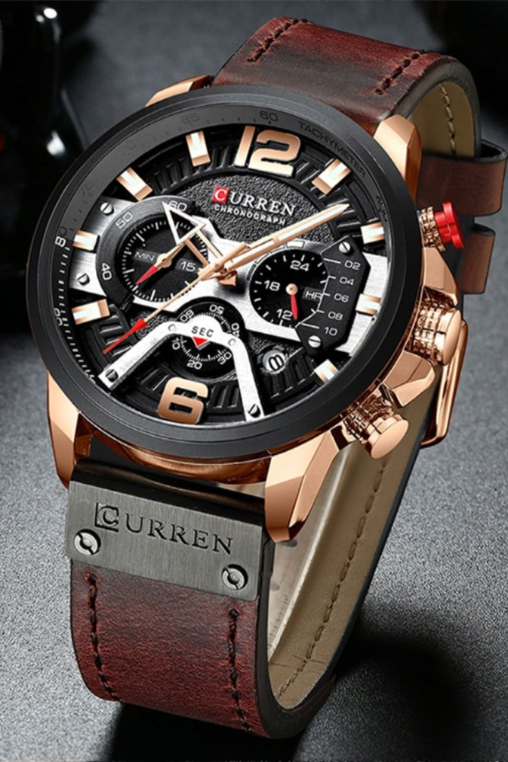 Luxury Chronograph Sport Watch Mens Watches Classy Luxury Watches For Men Stylish Watches Men