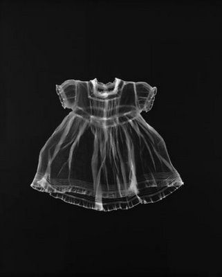 Adam Fuss Photogram - Clothing, experiences, childhood