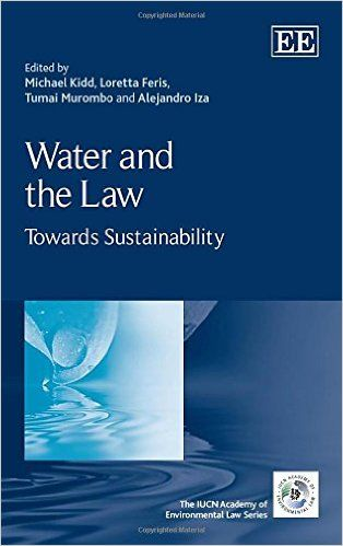 Water and the Law: Towards Sustainability (EBBOK) http://www.elgaronline.com/view/9781783479603.xml Water and the Law examines the critical relationship between law and the management of water resources in the context of ensuring environmental sustainability. It highlights the central importance of integrated water resources management and cooperation in achieving sustainability.