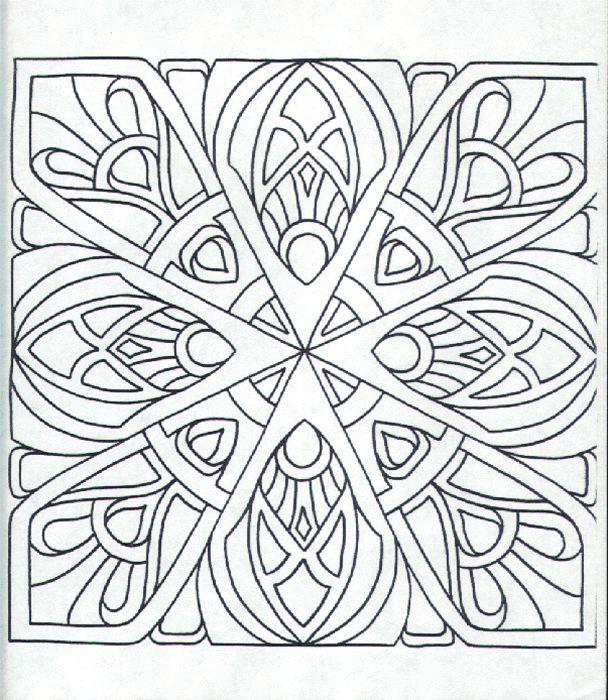 612 Best Coloring Mandalas Images On Pinterest Coloring