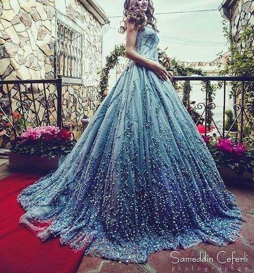 Starry Night Prom Dress