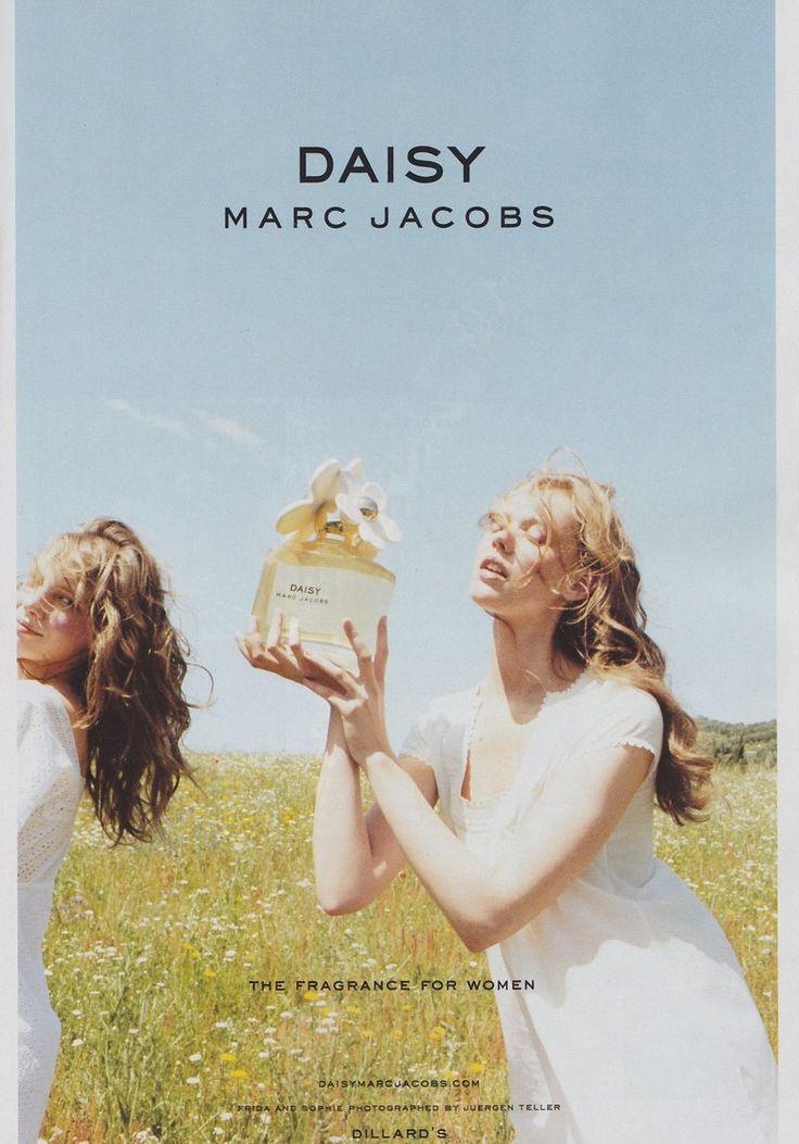 Sophie Srej and Frida Gustavsson by Juergen Teller for Marc Jacobs Fragrance F/W 2010