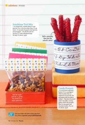 Back to School - Our Bake Sale Ideas for Parents Magazine