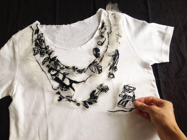 こんにちは。Tシャツの季節になってきましたね。来月のサロン・ド・レースセンターは、簡単リメイク会です。お手持ちのお洋服や小物をMIYACOオリジナル・おと...