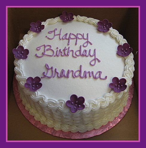 25 Best Ideas About Grandma Birthday Cakes On Pinterest 60 70th Cake