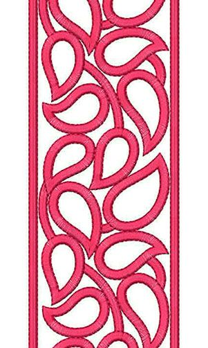 China Fashion Lace Embroidery Design