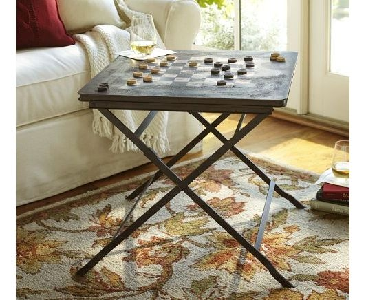 Carter Game Side Table Home And Garden Design Ideas