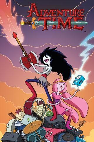 Adventure Time: Marceline and the Scream Queens #01Princesses Bubblegum, New Adventure, The Scream, Comics Book, Bubbles Gum, Rocks Band, Adventure Time Marceline, Adventuretime, Scream Queens