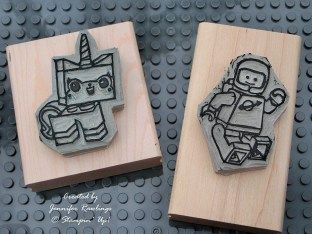 Stampin Up Undefined Lego movie stamps