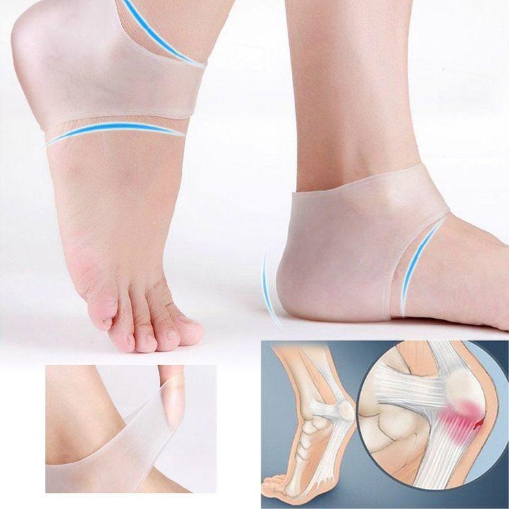 Gel Foot Protector 2 Pcs Socks Care Cracked Skin