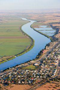 Tailem Bend towards Murray Bridge