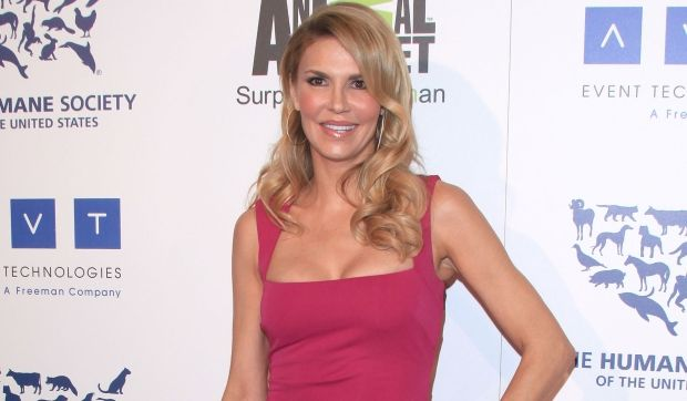 Exclusive: Brandi Glanville Losing Housewife Status Over Kids? Click to see more pictures.