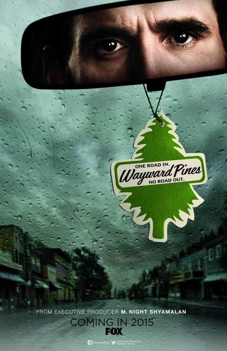 """♣""""Wayward Pines""""(2015) almost sounds like an apartment complex down on crenshaw Blvd AKA The ultimate gated community ♣ツ"""
