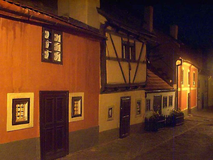 Golden Lane is a street situated at the Prague Castle, Czech Republic.