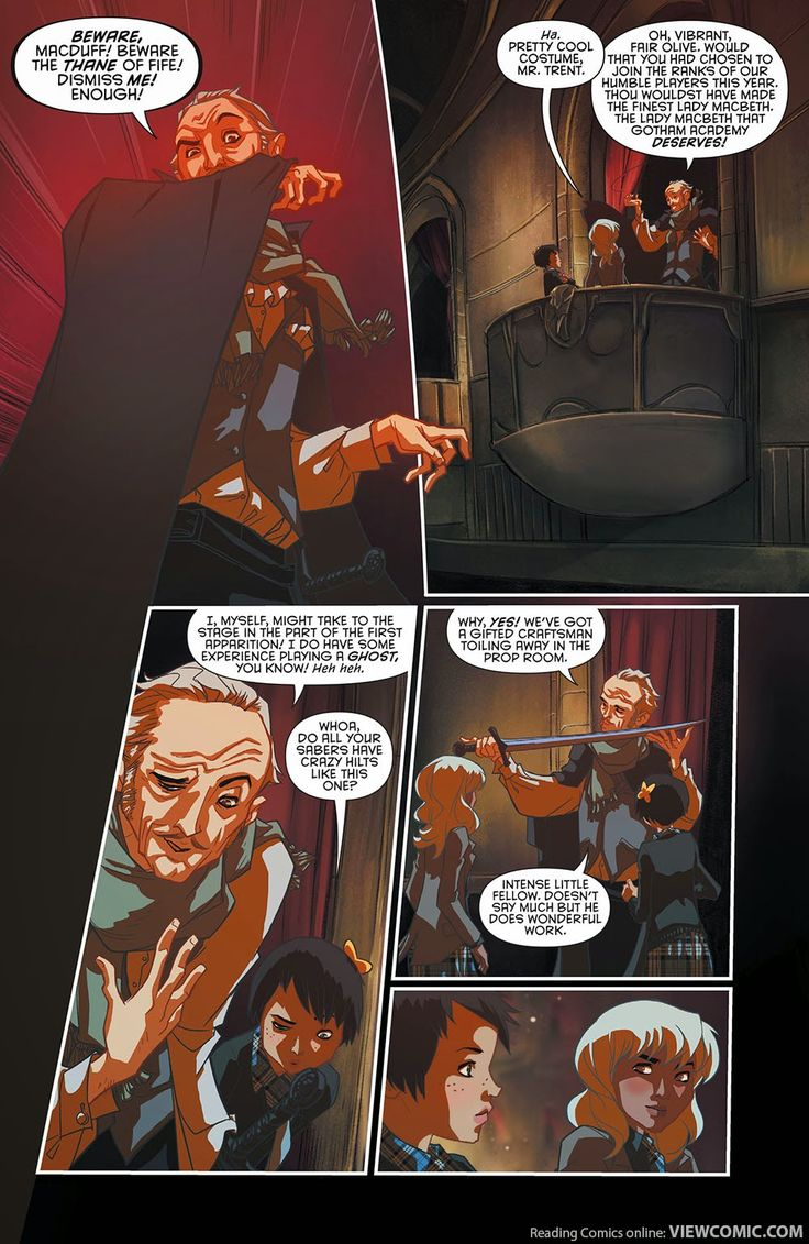 Gotham Academy 004 (2015) …………………… | Viewcomic reading comics online for free