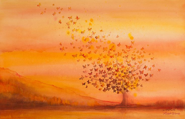 Soul Freedom Watercolor Painting ...  fineartamerica.com