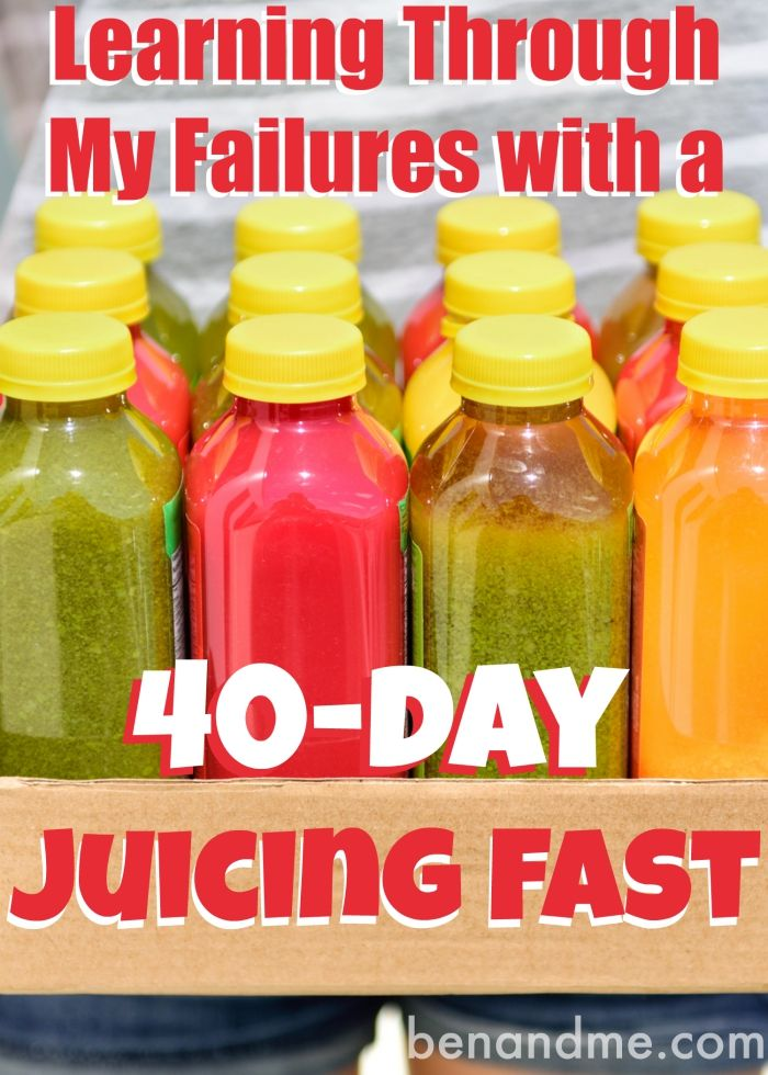 Learning through my failures with a 40-day juicing fast. #juicingmomma #juicefast