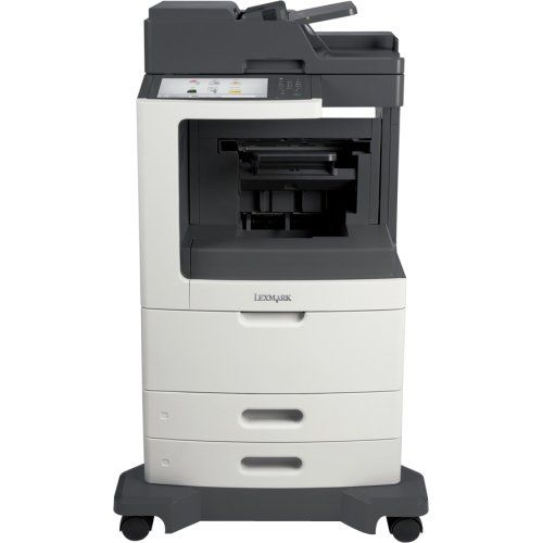 Lexmark Mx812de Laser Multifunction Printer . Monochrome . Plain Paper Print . Desktop . Copier/Fax/Printer/Scanner . 70 Ppm Mono Print . 1200 X 1200 Dpi Print . 70 Cpm Mono Copy . Touchscreen . 600 Dpi Optical Scan . Automatic Duplex Print . 1200 Sheets Input . Gigabit Ethernet . Usb