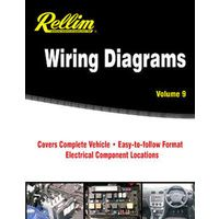 Rellim Wiring Diagrams Volume 9 from 2007-2012 with MPN RERW9