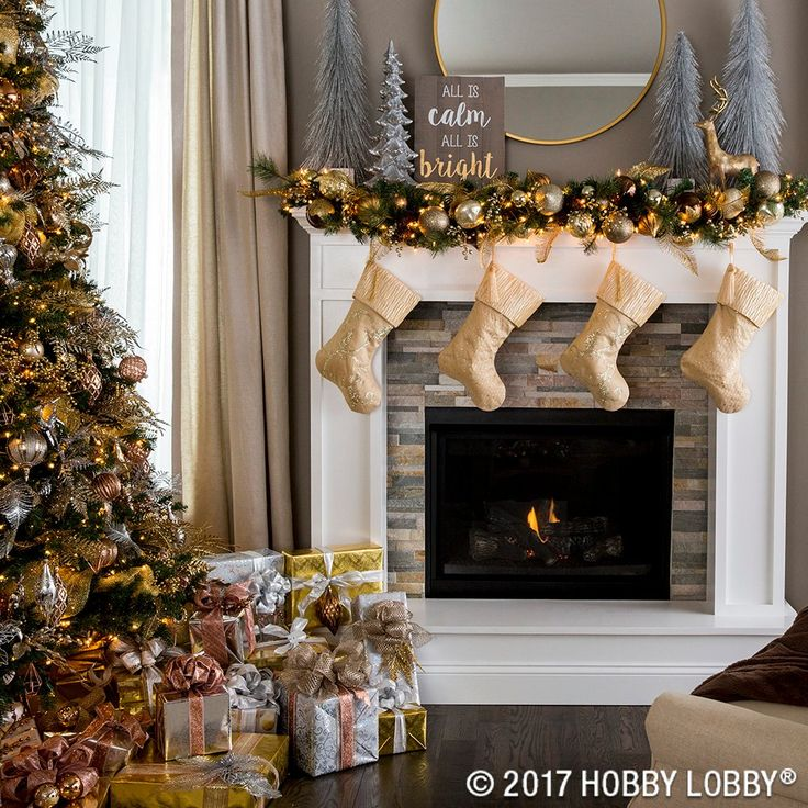 achieve an elegant cozy feel with this mixed metal christmas decor christmas decor pinterest christmas decor cozy and wonderful time