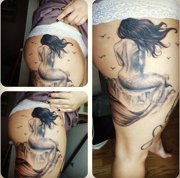 50 Lovely Mermaid Tattoos For Women: 17+ Ideas About Tattoos For Girls On Pinterest