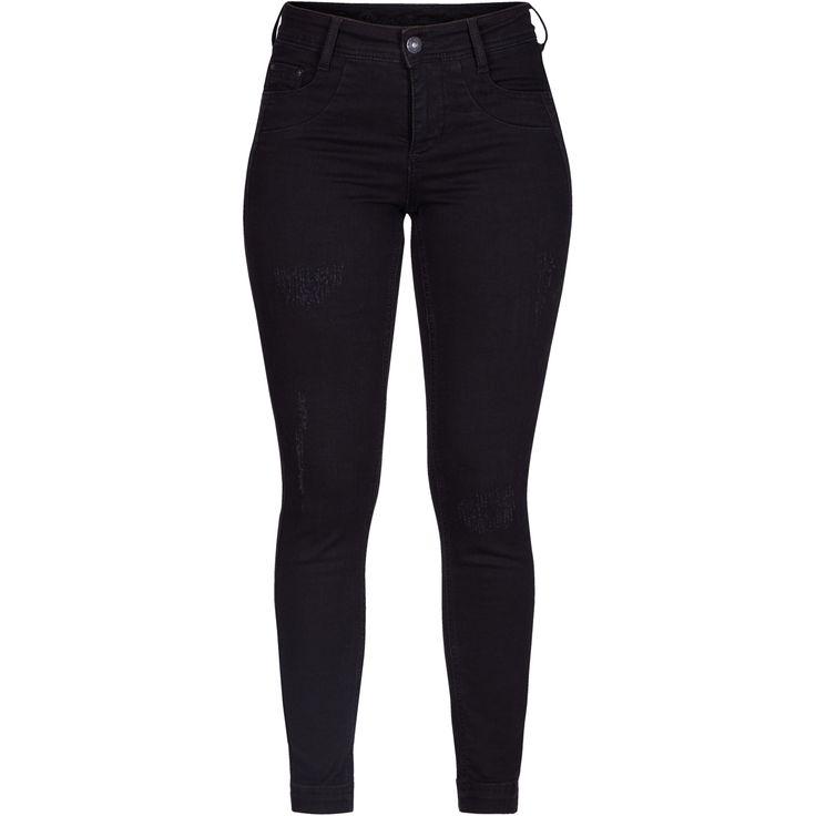 Julianna 7/8 slim jeans Cool ripped jeans.  Black Swan Fashion SS17