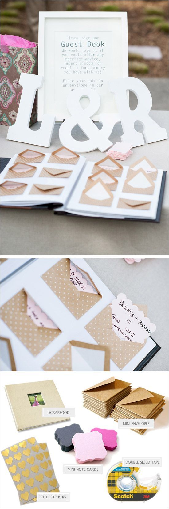 Ideas para buenos deseos de los invitados a los novios