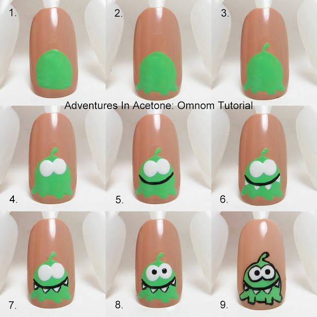 20 Amazing Nail Art Designs Inspired By Games We Play: 1000+ Ideas About Cute Kids Nails On Pinterest
