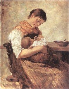 "Mother and Child, Iakovidis, ""Μητέρα με παιδί"", Ιακωβίδης"