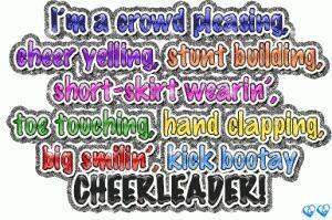 Cheerleading quote
