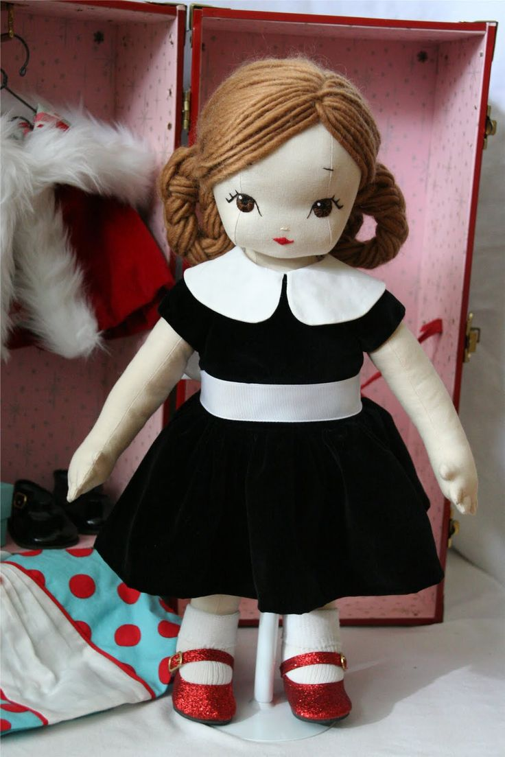 crazy awesome homemade cloth doll