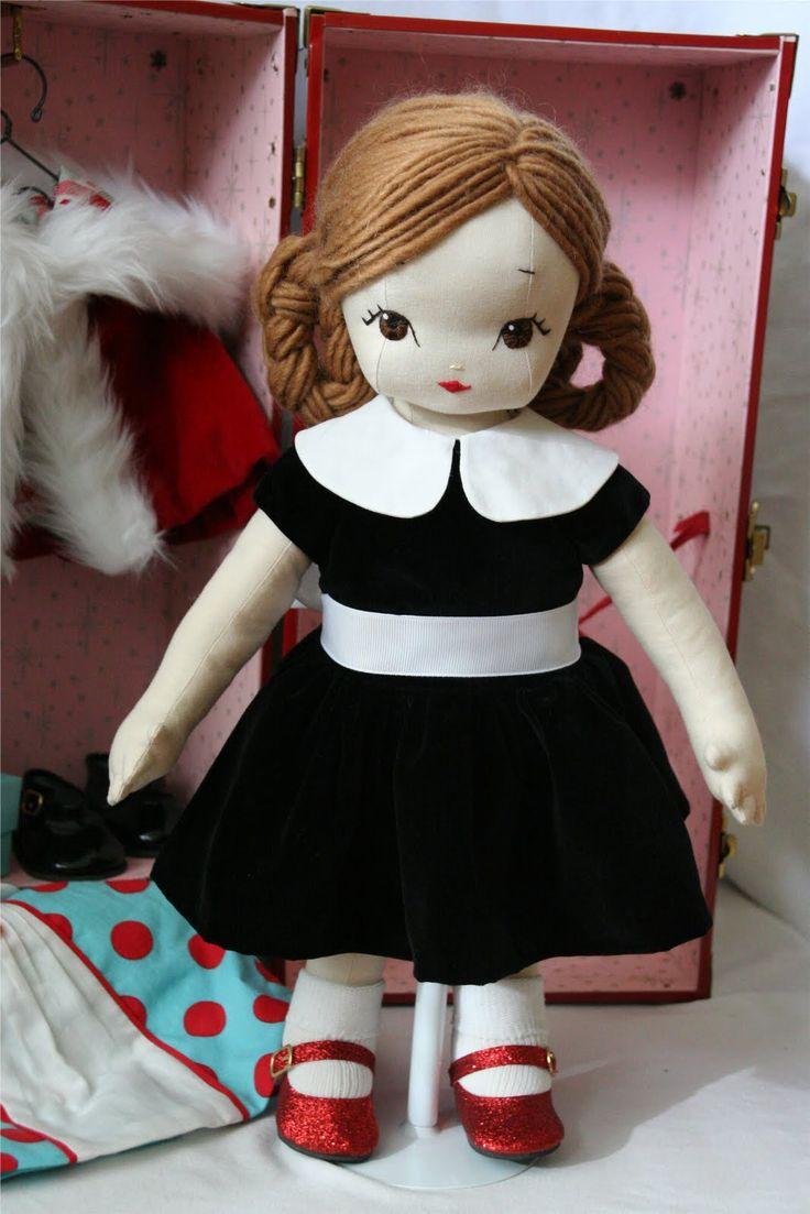 crazy awesome homemade cloth doll