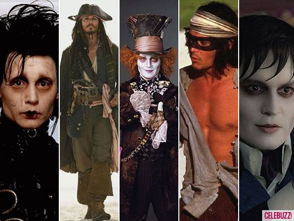Johnny Depp News - Johnny Depp Turns 49! See His Most Memorable Roles (PHOTOS) - Celebuzz