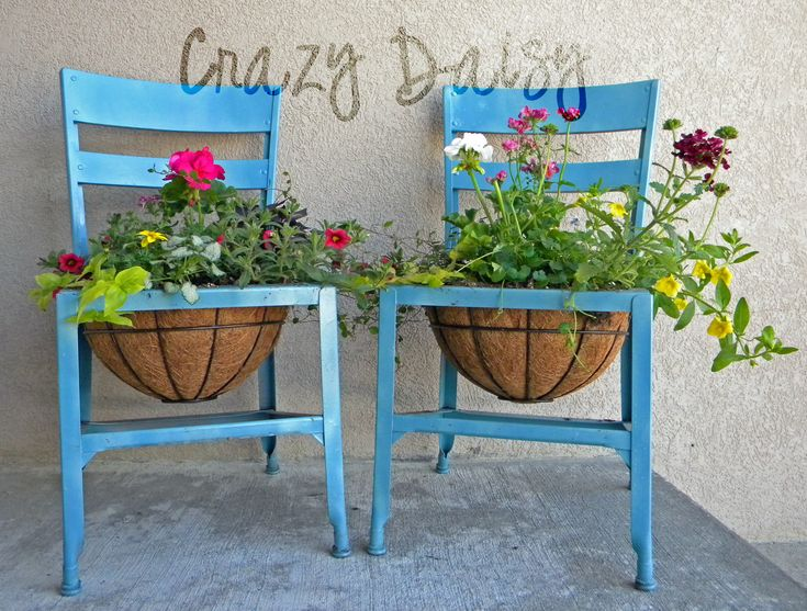 Have an old wooden school chair with a book rack underneath that will be perfect for this!