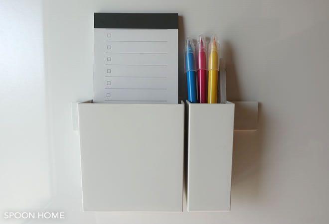 無印良品の新商品 マグネットバー の活用法 冷蔵庫や玄関ドアでの