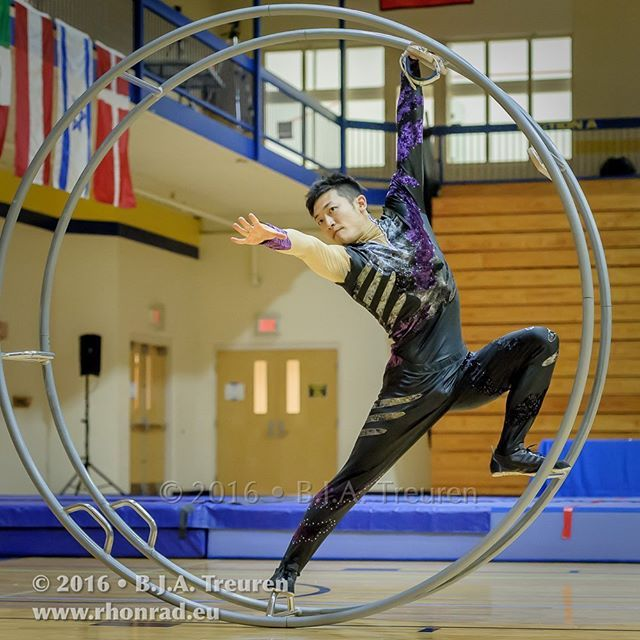 #wheelgymnastics#rhonrad#rhoenrad#germanwheel#yasuhikotakahashi#worldchampion#ラート#世界一#BartTreuren#Cincinnati#gymnastics#体操