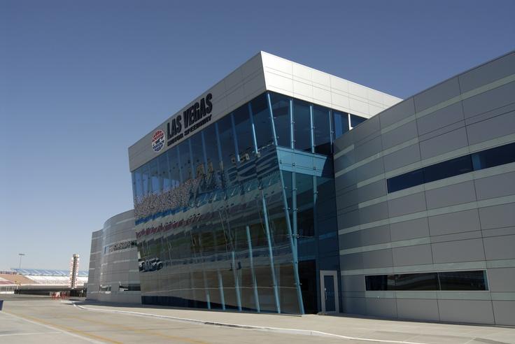 Las Vegas Motor Speedway  Centria Architectural Panels  www.steelencounters.com