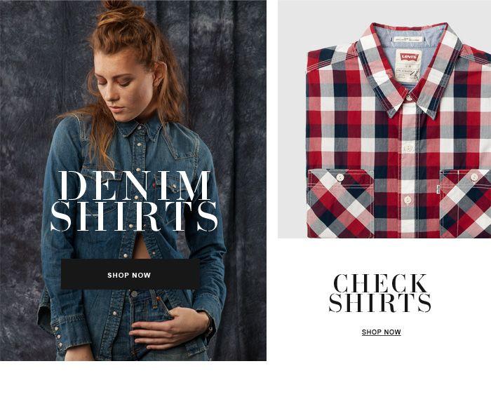 #jeansshop #fallwinter14 #fall #winter #autumn #autumnwinter14 #onlinestore #online #store #shopnow #shop #fashion #shirt #jeans #krata #denim #check #leviscollection #levis
